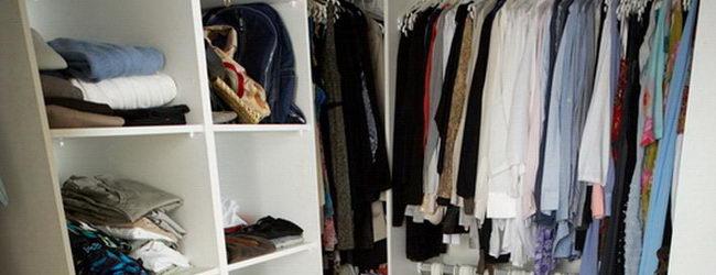 סידור וארגון ארונות בגדים