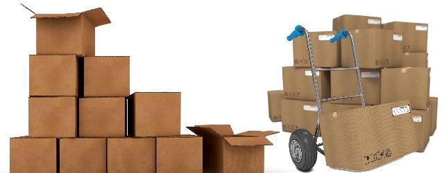 קופסאות קרטון לאריזת הדירה